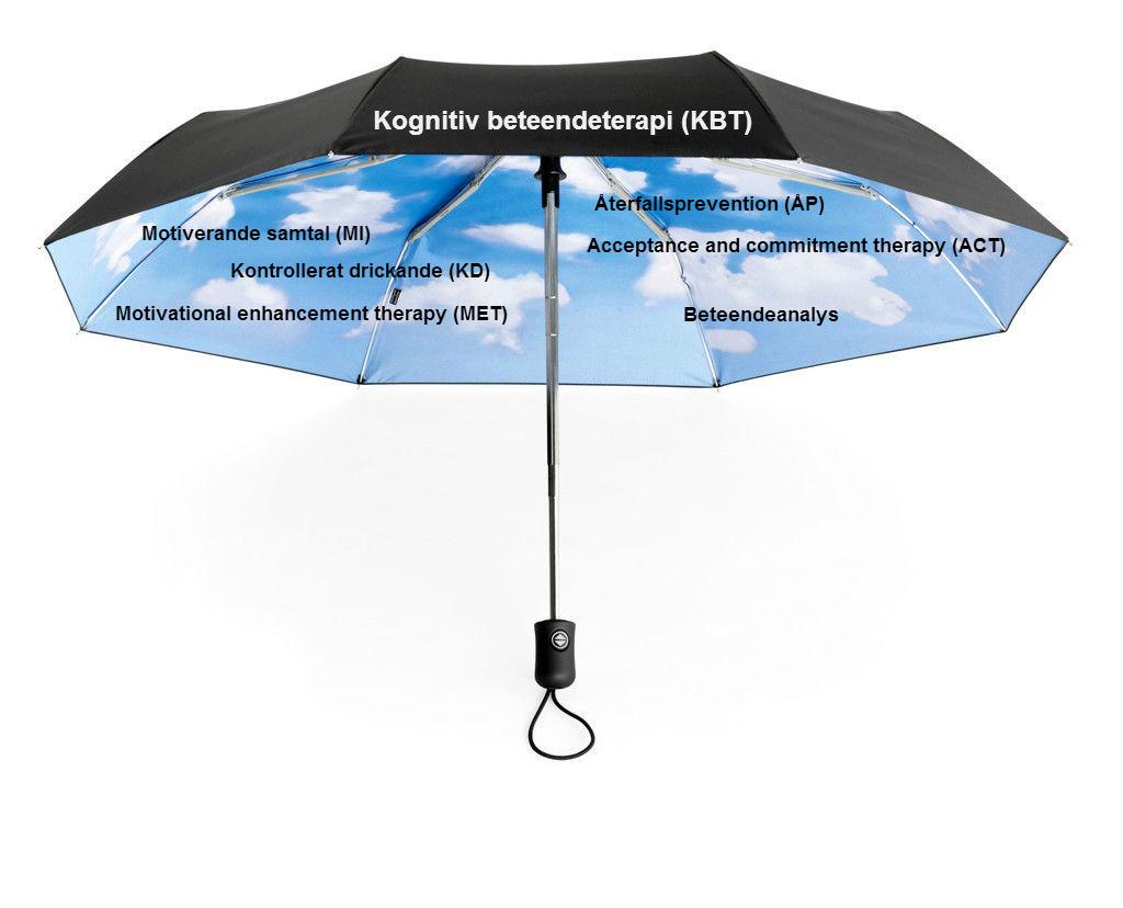 paraply kbt med terapier